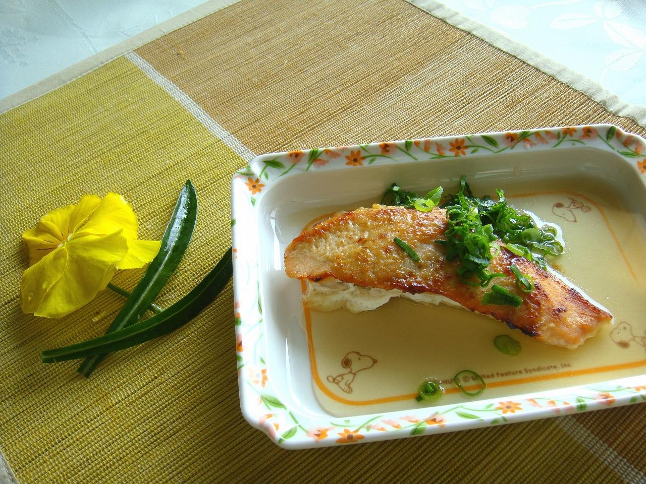 鮭の味噌マヨネーズ焼き