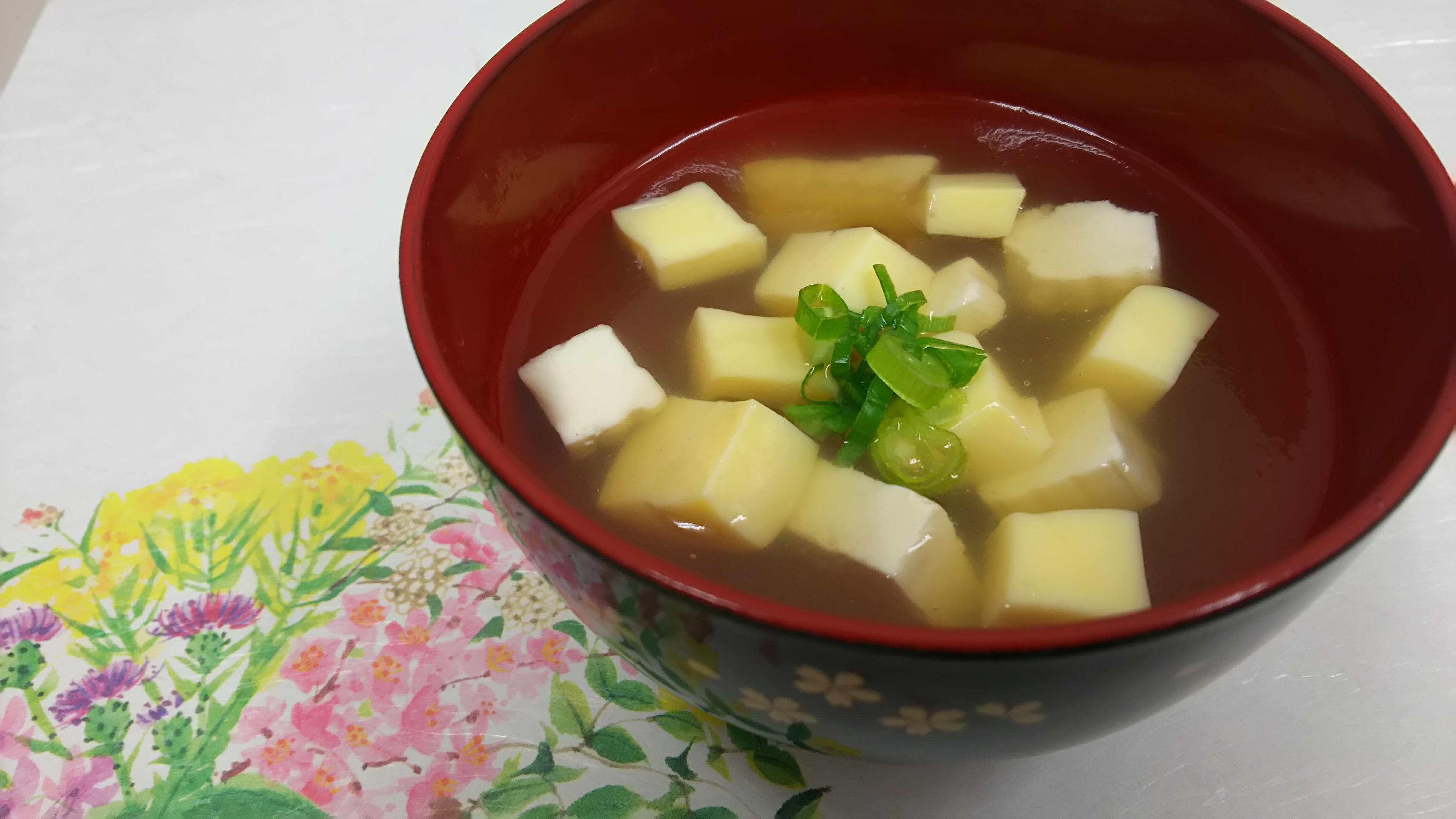金銀豆腐汁