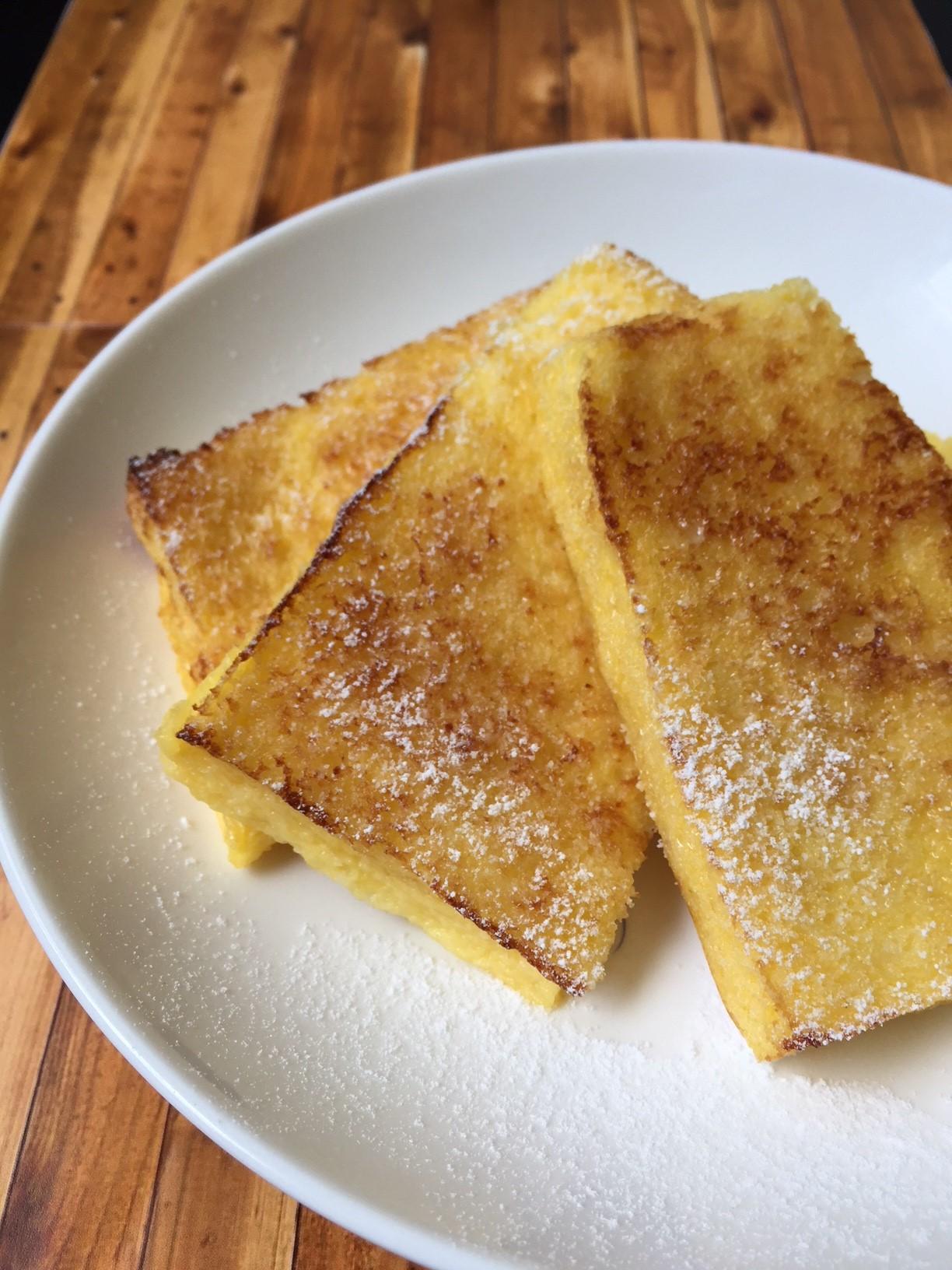 こだわり卵のフレンチトースト