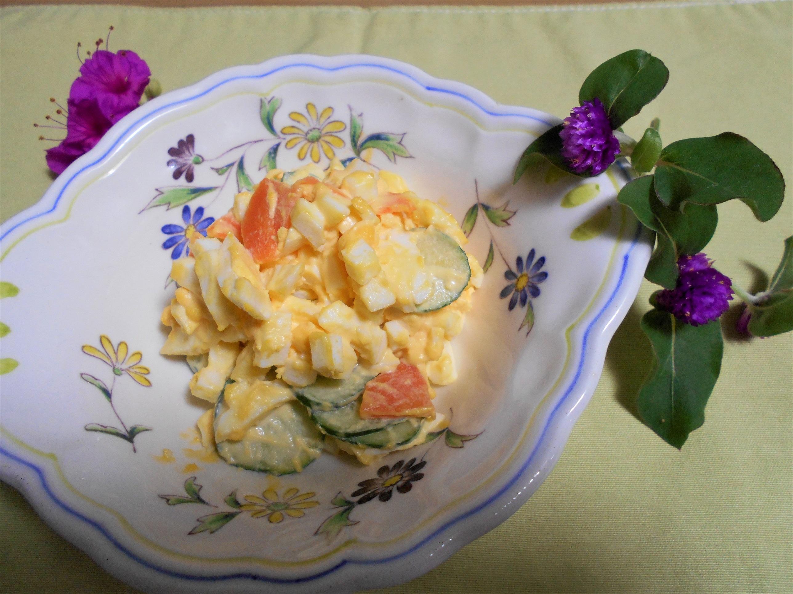 しっとり卵サラダ