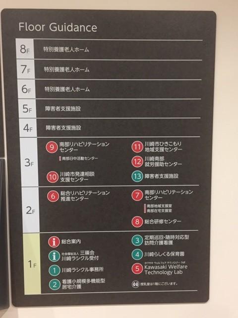川崎市複合福祉センターふくふくフロアガイド