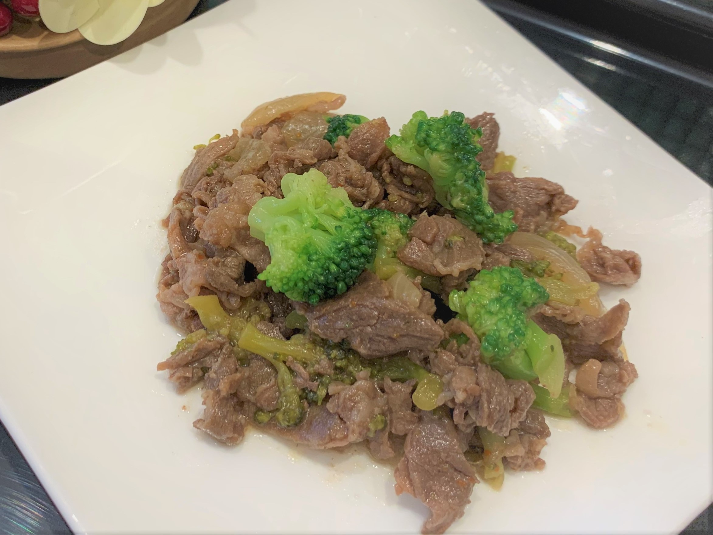 牛肉のうま辛七味焼き